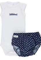 Pickalilly - Liefiekind Diaper Cover Set Navy