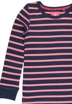 Next - Navy stripe dress. Multi-colour