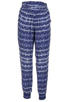Billabong  - Printed Harem Pants Multi-colour
