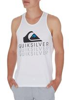 Quiksilver - Rainbow Country Tank White