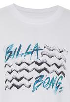 Billabong  - Printed Tee White
