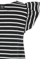 Billabong  - Striped Jersey Dress Black and White
