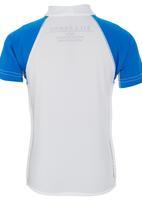 Billabong  - Short Sleeve Wetshirt Blue and White