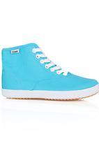 TOMY - Slim Fit Hi Top Sneaker Mid Blue