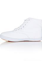 TOMY - Slim Fit Hi Top Sneaker White