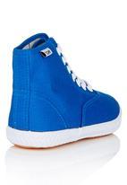 TOMY - Slim Fit Hi Top Sneaker Dark Blue