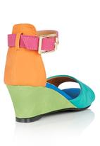 Rock & Co. - Wedge with Ankle Strap Multi-colour