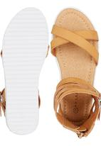 Rock & Co. - Gladiator Sandal Camel/Tan