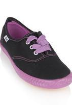 TOMY - Two-tone Sneaker Mid Purple