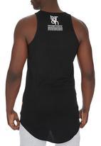 Butan - Letters Extended Vest Black