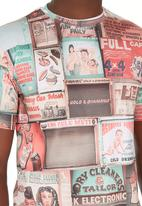 Butan - Inner City Hustle Tee Multi-colour