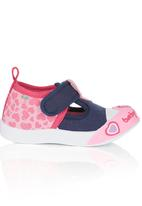 Baby Bubbles - Velcro T-Bar Shoes Multi-colour