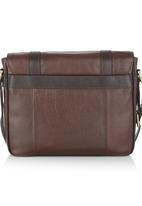 Estate EW City Bag Dark Brown Fossil Accessories Bags   Wallets ... b2567a6240ce2