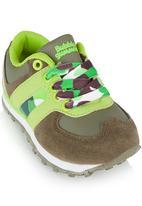 Bubblegummers - Camo Print Sneaker Multi-colour