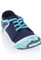 Bubblegummers - Rubber Toe Sneaker Dark Blue