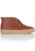 Cutty - Hi-Top Sneaker Tan