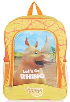 Jungle Beat - Rhino Back Pack Yellow