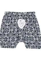 Eco Punk - Kaleidoscope Print Harem Pants Navy