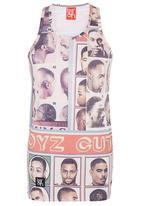 Butan - German Cut Vest Multi-colour