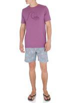 Quiksilver - Flyday T-Shirt Mid Purple