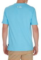 Rip Curl - RC Icon tee  Mid Blue