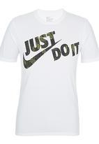 Nike - Nike JDI Swoosh T-shirt White