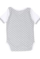 Poogy Bear - Polka Dot Body Vest Grey