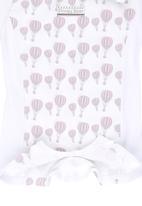 Poogy Bear - Air Balloon Romper Pale Pink