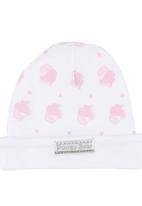 Poogy Bear - Reversible Beanie Pale Pink