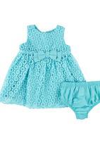 London Hub - Dress And Knicker Set Mid Blue