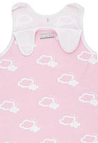 Poogy Bear - Sleeping Bag Pale Pink