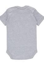 Funky Shop - Slogan Babygrow Grey