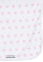 Poogy Bear - Cupcake Blanket Set Pale Pink