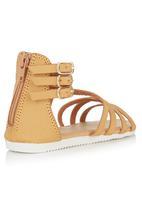 Footwork - Strappy Sandal Tan