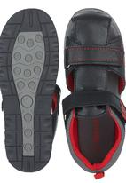 SOVIET - Cut Out Sandal Black
