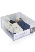 Tic Tac Toe - Planes Fabric Loafers White