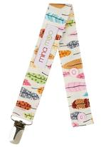 Mina Moo - Feather Dummy Clip Multi-colour