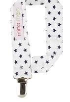 Mina Moo - Baby stars dummy clip Multi-colour
