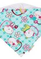 Mina Moo - Kitty Bib Multi-colour
