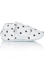 shooshoos - Polka Dot Pull-On Black and White