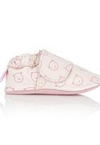 shooshoos - Pink Cat Basic Pull-On Pale Pink