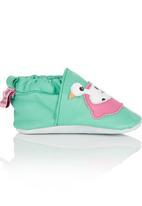 shooshoos - Rubber Duckie Pull-On Green