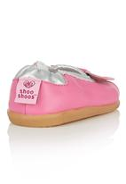 shooshoos - Peep-Toe Pump Mid Pink