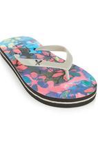 Lizzy - Floral Flip Flop Multi-colour