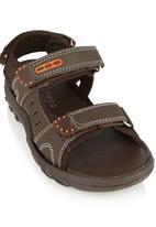 Rock & Co. - Boys sandal Dark Brown