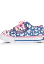 Skechers - Sneaker With Gingham Laces Multi-colour
