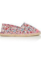 Footwork - Floral Slip On Multi-colour