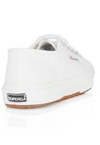 SUPERGA - Canvas Sneaker White
