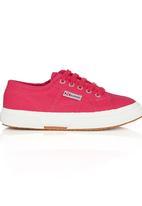 SUPERGA - Canvas Sneaker Dark Pink