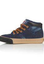Cutty - Suade Hi-Top Sneaker Mid Blue